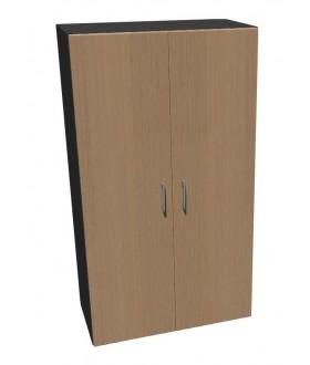Kancelářská skříň Standard dvoudveřová - výška 144 cm