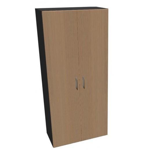 Kancelářská skříň Standard II dvoudveřová policová - výška 178 cm