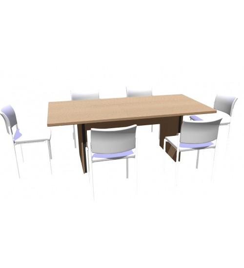 Jednací stůl Level 200x100cm - ML1220