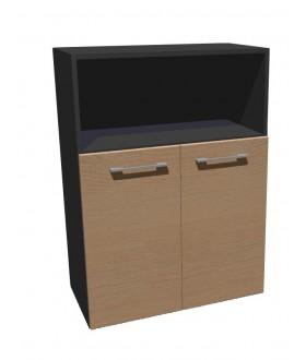 Kancelářská skříň střední dělená Level MN3208
