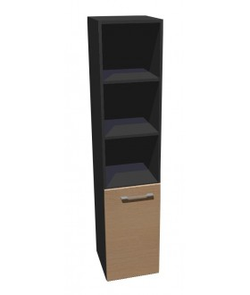 Kancelářská skříň vysoká úzká Level MN5204