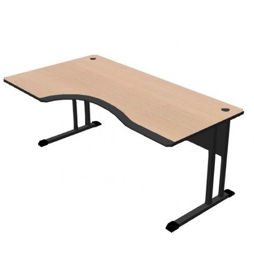 Kancelářský stůl Classic s PUR hranou 180x100 cm - CL3018P levý