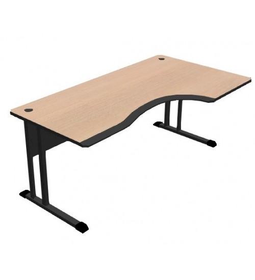 Kancelářský stůl Classic s PUR hranou 160x100 cm - CL3016 pravý
