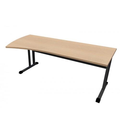 Kancelářský stůl Classic s ABS hranou CL4120 levý