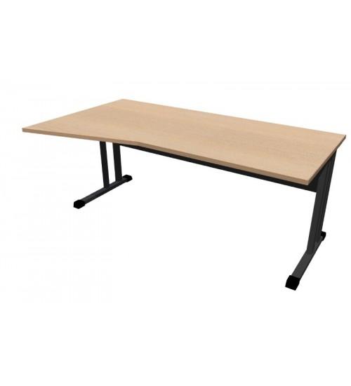 Kancelářský stůl Classic s ABS hranou CL5018 levý