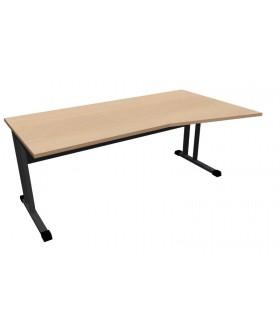 Kancelářský stůl Classic s ABS hranou CL5018 pravý