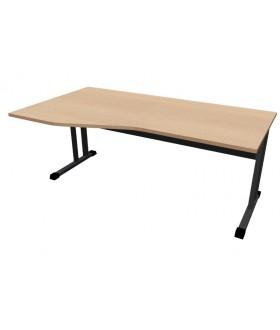 Kancelářský stůl Classic s ABS hranou CL5118 levý