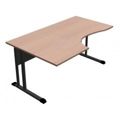 Kancelářský stůl Classic s ABS hranou 160x100 cm - CL3016 levý