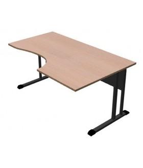 Kancelářský stůl Classic s ABS hranou 160x100 cm - CL3016 pravý
