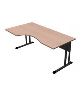 Kancelářský stůl Classic s ABS hranou 180x100 cm - CL3018 levý